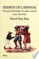 libro Tiempos De Carnaval