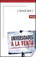 libro Universidades A La Venta