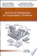 libro Ejercicios De Fundamentos De Computadores Y Periféricos