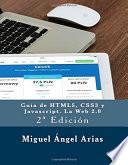 libro Guía De Html5, Css3, Y Javascript. La Web 2.0