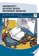 libro Microsoft Access 2003