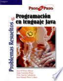 libro Problemas Resueltos De Programación En Lenguaje Java