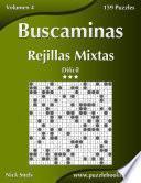 libro Buscaminas Rejillas Mixtas   Difícil   Volumen 4   159 Puzzles
