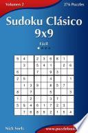 libro Sudoku Clásico 9x9   Fácil   Volumen 2   276 Puzzles