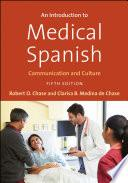 libro An Introduction To Medical Spanish