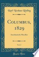 libro Columbus, 1829, Vol. 2