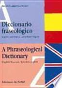 libro Diccionario Fraseológico