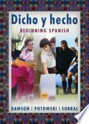 libro Dicho Y Hecho