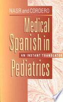 libro Medical Spanish In Pediatrics