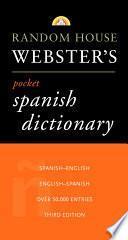 libro Random House Webster S Pocket Spanish Dictionary