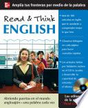 libro Read & Think English (book Only)