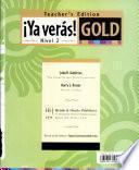libro Ya Verás! Gold