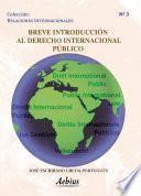 libro Breve Introducción Al Derecho Internacional Público
