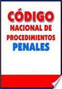 libro Codigo Nacional De Procedimientos Penales