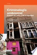 libro Criminología Ambiental