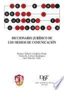 libro Diccionario Jurídico De Los Medios De Comunicación