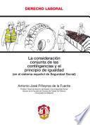 libro La Consideración Conjunta De Las Contingencias Y El Principio De Igualdad