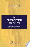 libro La Prescripción Del Delito.
