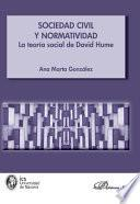 libro Sociedad Civil Y Normatividad. La Teoría Social De David Hume