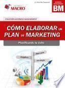libro Cómo Elaborar Un Plan De Marketing.