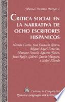 libro Crítica Social En La Narrativa De Ocho Escritores Hispánicos