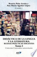 libro Didactica De La Lengua Y La Literatura, Tomo I