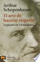 libro El Arte De Hacerse Respetar