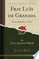 libro Fray Luís De Granada