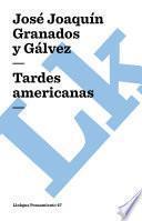 libro Tardes Americanas