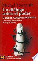 libro Un Diálogo Sobre El Poder Y Otras Conversaciones
