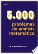 libro 5000 Problemas De Análisis Matemático