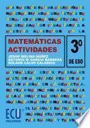 libro Matemáticas. 3a Eso. Actividades