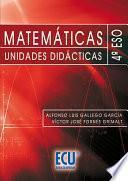 libro Matemáticas. Unidades Didácticas. 4o Eso