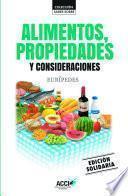 libro Alimentos, Propiedades Y Consideraciones