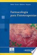 libro Farmacología Para Fisioterapeutas