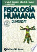 libro Fisiologia Humana De Houssay/ Human Physiology Of Houssay