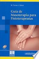 libro Guía De Masoterapia Para Fisioterapeutas