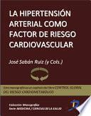 libro La Hipertensíon Arterial Como Factor De Riesgo Cardiovascular