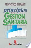 libro Principios De Gestión Sanitaria