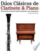 libro Dúos Clásicos De Clarinete And Piano