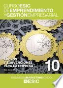 libro Apoyos Y Subvenciones Para La Empresa