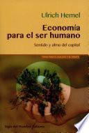 libro Economía Para El Ser Humano