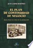 libro El Plan De Continuidad De Negocio