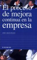 libro El Proceso De Mejora Continua En La Empresa