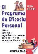 libro El Programa De Eficiencia Personal