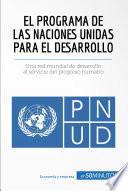 libro El Programa De Las Naciones Unidas Para El Desarrollo