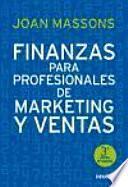 libro Finanzas Para Profesionales De Marketing Y Ventas