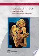 libro Insuficiencia Nutricional En El Ecuador