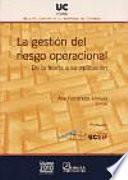libro La Gestión Del Riesgo Operacional