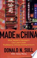 libro Made In China